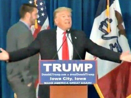 Trump and Iowa Hawkeyes