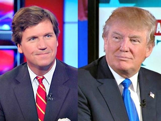 Tucker Carlson Fox News Donald Trump AP