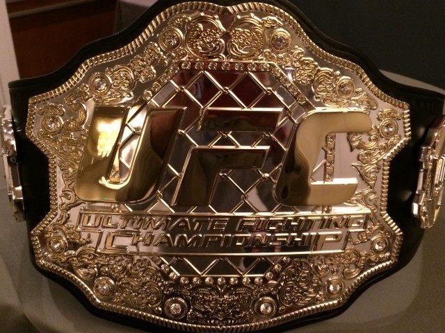 UFC Bantamweight Belt