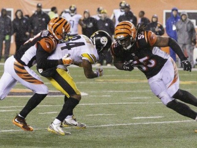 Vontaze Burfict Antonio Brown Hit AP
