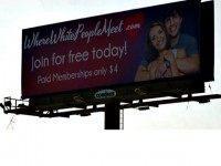 Where White People Billboard Fox 13
