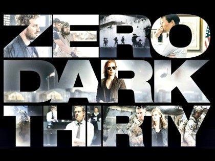 Zero Dark Thirty poster Columbia Pictures