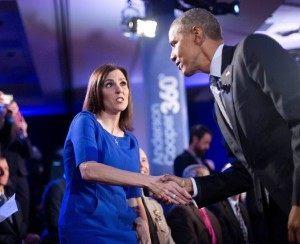 Barack Obama, Taya Kyle