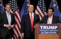 Donald Trump, Donald Trump Jr., Eric Trump