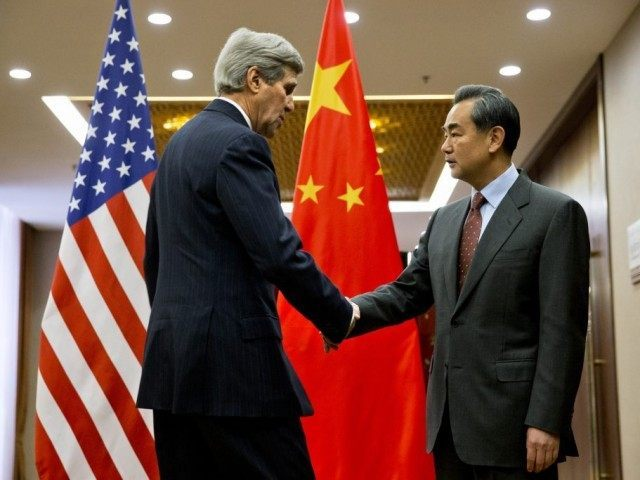 John Kerry, Wang Yi