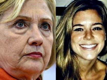 hillary-clinton DAVID BECKER REUTERS and Kathryn Steinle