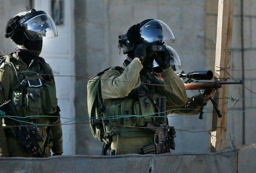 IDF soldiers Israel West Bank