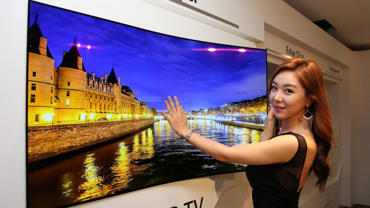 Photos: LG to Unveil Flexible Screen That Can Be Rolled Up ...