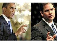 obama_rubio AP, Getty