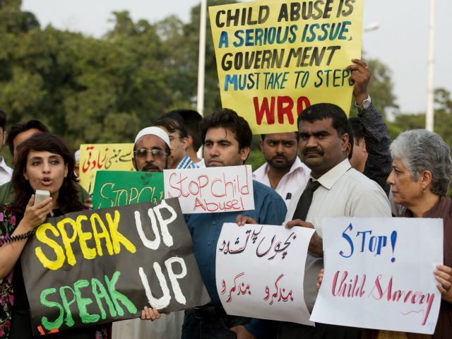 Image result for Youths rally in Pakistan for 8-year-old rape victim