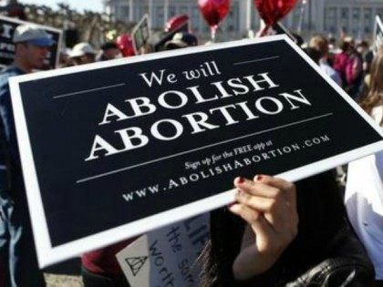 """Abortion opponents gather in San Francisco's Civic Center for the """"Walk for Life"""" rally and march, Saturday, Jan. 25, 2014, in San Francisco."""