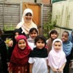 Junior pupils at Al Khair School in Croydon.