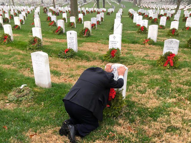 Chris Warren On Memorial Day At Arlington Read The