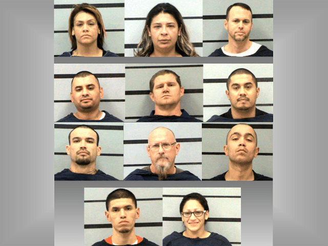 12 with Alleged Sinaloa Cartel Connections Charged in Texas Panhandle