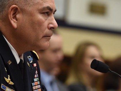 Commander US Forces Afghanistan General John Campbell testifies before the House Armed Services Committee on Capitol Hill in Washington, DC, October 8, 2015. US President Barack Obama on Wednesday apologized to Doctors Without Borders (MSF) for a deadly US air strike on an Afghan hospital, as the medical charity demanded …