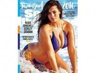 Ashley Graham Becomes First Size-16 Model to Cover 'Sports Illustrated' Swimsuit Issue