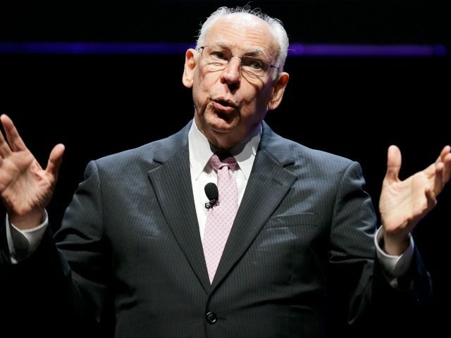 Pastor Rafael Cruz, father of U.S. Sen. Ted Cruz, R-Texas, speaks during The Family Leadership Summit, Saturday, Aug. 9, 2014, in Ames, Iowa. (