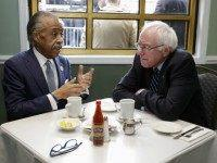 Kissing the Ring: Bernie Sanders Breaks Bread With Al Sharpton
