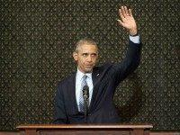 Barack Obama Illinois Speech (Pablo Martinez Monsivais / Associated Press)