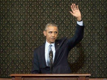Barack Obama Illinois Speech (Pablo Martinez Monsivais / Associated Press)