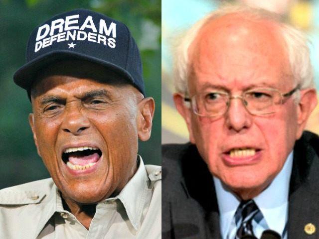 Belafonte and Bernie AP