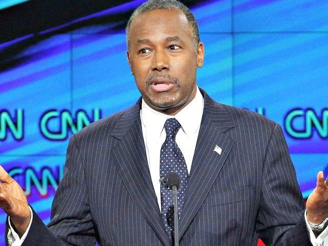 Ben Carson Debate CNN AP John Locher