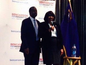Ben and Candy Carson, Summerlin Nevada (Adelle Nazarian / Breitbart News)