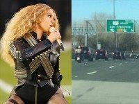 Beyoncé Bashes Cops in Half-Time Show After Getting Police Escort to the Game