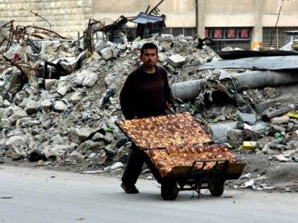 Bombed Aleppo Abdalrhman Ismail Reuters