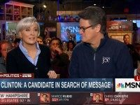 MSNBC's Brzezinski: Hillary Has Used Her Gender To Dodge on Emails and Wall Street Speeches