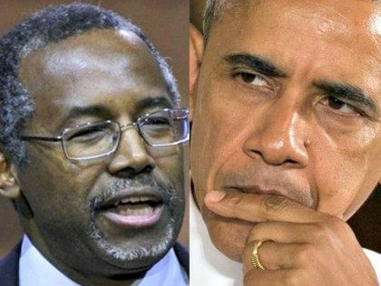 Carson and Obama AP
