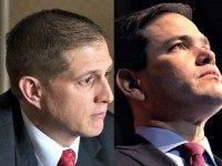 Chris Crane and Marco Rubio AP