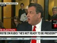 Christie: Rubio 'May Have a Great Future, His future Is Just Not Now'