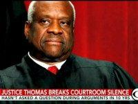 Clarence Thomas Speaks from Bench