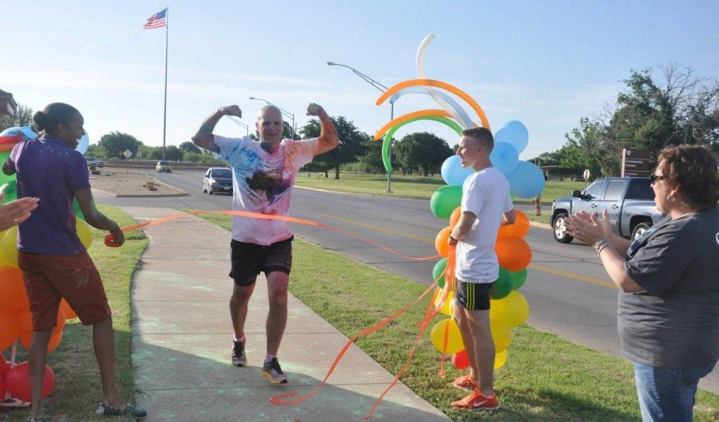 Col Michael Bob Starr - 2015 Dyess Pride Race