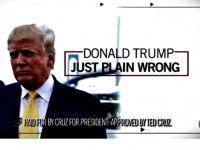 Cruz Ad vs Trump