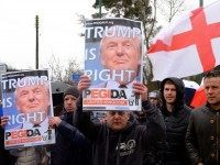 PICTURES: PEGIDA UK Hold First March in Birmingham