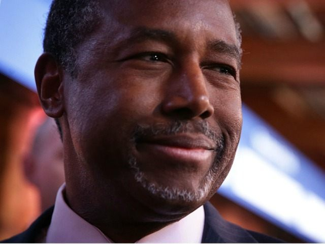 Republican presidential candidate Ben Carson February 13, 2016 in Greenville, South Carolina.