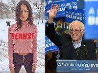 Super Model Emily Ratajkowski Stumps for Bernie: #NotHereForTheBoys