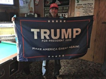 The 'Flag Man': Donald Trump a 'Prototype' Telling 'Neglected Truths'