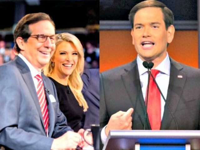 Fox Debate Mods and Rubio