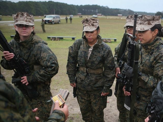 <> on February 25, 2013 in Parris Island, South Carolina.