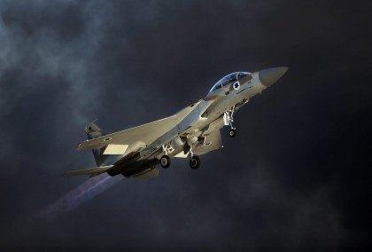IDF Israel jet fighter