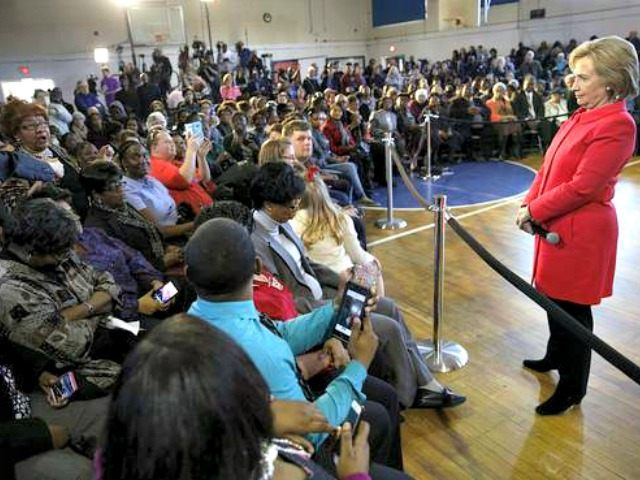Hillary Black Voters S.C. Reuters