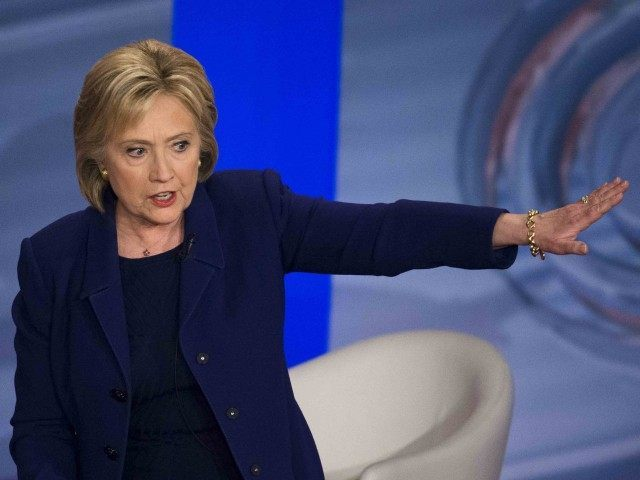 Hillary Clinton CNN (John Minchillo / AP)
