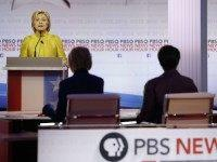 Hillary Clinton Dem Debate PBS (Morry Gash / Associated Press)