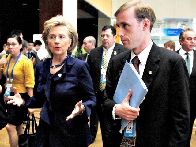 Hillary Clinton Jake Sullivan AP