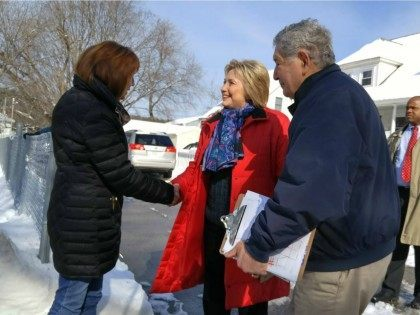 Hillary Clinton and Lauren Lawless -- New Hampshire