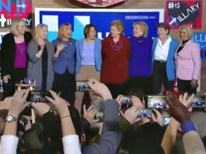 Hillary Clinton Dances to 'Fight Song'