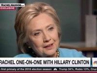 Hillary: There's 'Double Standard' In Asking Me To Release Speeches I Said I'd Look Into Releasing